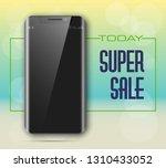 smartphone   credit card banner.... | Shutterstock .eps vector #1310433052