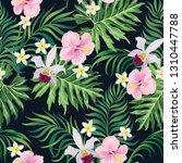 tropical vector seamless... | Shutterstock .eps vector #1310447788