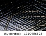 reworked photo of steel and... | Shutterstock . vector #1310456525