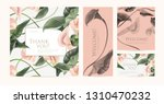 a set of luxury cards with the... | Shutterstock .eps vector #1310470232