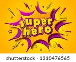 cartoon comics book page... | Shutterstock .eps vector #1310476565