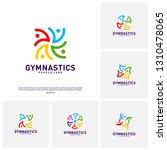 set of people healthy logo... | Shutterstock .eps vector #1310478065