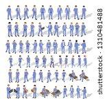 isometric people urban business ...   Shutterstock .eps vector #1310481488