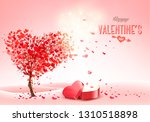 valentine's day holiday... | Shutterstock .eps vector #1310518898
