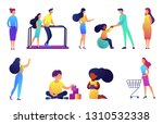 children rehabilitation and... | Shutterstock .eps vector #1310532338