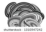 tangle lines black and white... | Shutterstock .eps vector #1310547242