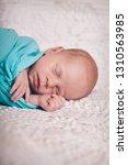 portrait of a little boy  baby... | Shutterstock . vector #1310563985