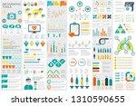 medical infographic elements... | Shutterstock .eps vector #1310590655