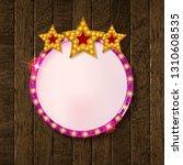 round blank cinema with three... | Shutterstock .eps vector #1310608535