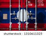 close up of the container with... | Shutterstock . vector #1310611325