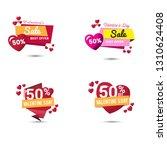 valentine's day promotion.... | Shutterstock .eps vector #1310624408