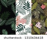 set of three tropical...   Shutterstock .eps vector #1310636618