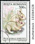 romania   circa 1994  a stamp... | Shutterstock . vector #131064128