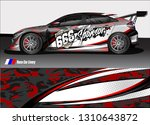 race car wrap design. simple... | Shutterstock .eps vector #1310643872