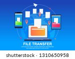 ability copy files and folders... | Shutterstock .eps vector #1310650958
