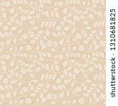 light leaves with flowers on... | Shutterstock .eps vector #1310681825