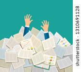 concept of studying. student... | Shutterstock . vector #1310691128