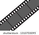 filmstrip logo template vector ...   Shutterstock .eps vector #1310703095
