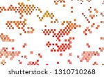 light green  red vector... | Shutterstock .eps vector #1310710268