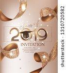 graduation party class 2019... | Shutterstock .eps vector #1310720582