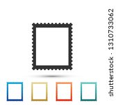 postal stamp icon isolated on... | Shutterstock .eps vector #1310733062