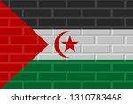 sahrawi arab democratic... | Shutterstock . vector #1310783468