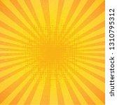 vintage sunburst poster | Shutterstock . vector #1310795312