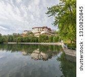 potala palace lake reflection   Shutterstock . vector #1310820845