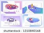 business startup marketing... | Shutterstock .eps vector #1310840168