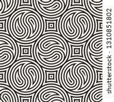 seamless vector pattern... | Shutterstock .eps vector #1310851802