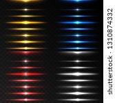realistic lighting effects.... | Shutterstock .eps vector #1310874332