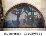 zagreb  croatia   december 28 ...   Shutterstock . vector #1310899898