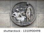 paris  france   january 11 ...   Shutterstock . vector #1310900498
