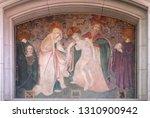holy trinity and saints felix...   Shutterstock . vector #1310900942