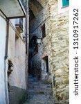 narrow cobbled streets of...   Shutterstock . vector #1310917262