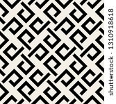 abstract geometric weave... | Shutterstock .eps vector #1310918618