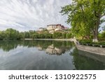 potala palace lake reflection   Shutterstock . vector #1310922575