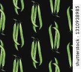 vegan food seamless pattern... | Shutterstock .eps vector #1310938985
