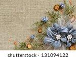 background with handmade...   Shutterstock . vector #131094122