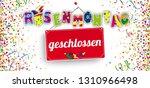 german text rosenmontag... | Shutterstock .eps vector #1310966498