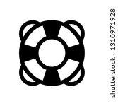 lifesaver icon vector... | Shutterstock .eps vector #1310971928