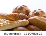 bread  french bread collection | Shutterstock . vector #1310983622
