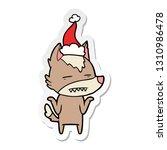 hand drawn sticker cartoon of a ... | Shutterstock .eps vector #1310986478