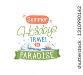 vintage typography lettering... | Shutterstock . vector #1310990162