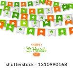 irish holiday   happy saint... | Shutterstock . vector #1310990168