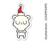 peaceful hand drawn sticker... | Shutterstock .eps vector #1310993495