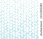 triangle halftone seamless... | Shutterstock .eps vector #1311002282
