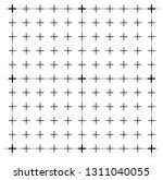measured grid. graph plotting... | Shutterstock .eps vector #1311040055