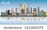nairobi kenya city skyline with ...   Shutterstock .eps vector #1311042575