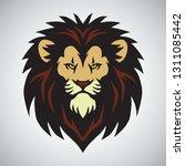 lion head mascot logo design...   Shutterstock .eps vector #1311085442